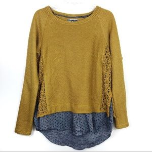 Anthropologie Commie Toi Sweater